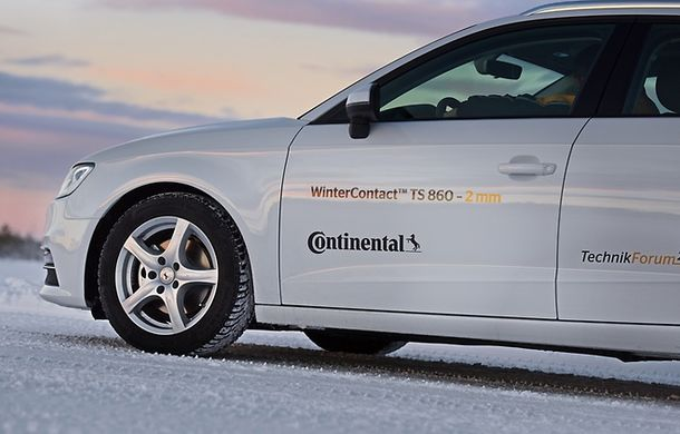 (P) Anvelopa de iarnă Continental - câștigătoare a testului efectuat de cluburile automobilistice - Poza 5