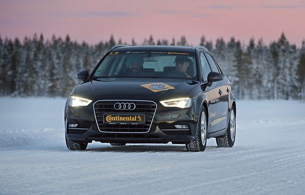 (P) Anvelopa de iarnă Continental - câștigătoare a testului efectuat de cluburile automobilistice - Poza 4
