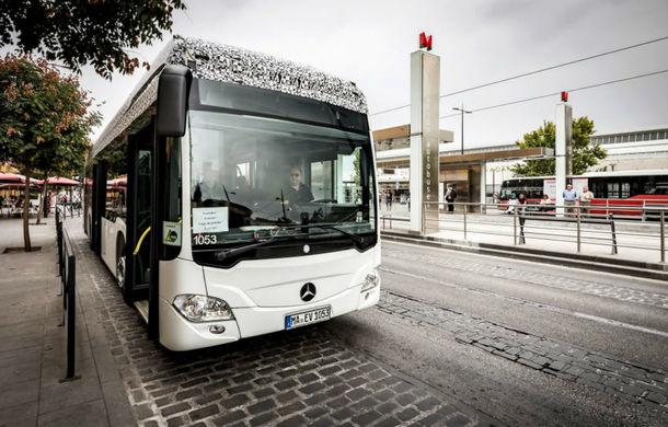 Mercedes pregătește primul său autobuz electric: cunoscutul Citaro va avea de anul viitor versiune de producție cu baterii - Poza 1