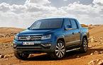 Volkswagen introduce o versiune accesibilă pentru Amarok: motor diesel de 3.0 litri și 163 CP și cutie de viteze manuală