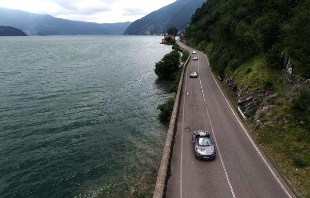 Încă un teaser pentru BMW i8 Roadster: imagini din fabrica unde germanii produc noul model - Poza 1
