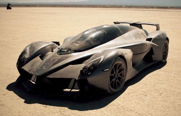 Tachyon Speed: hypercar 100% electric cu peste 1.260 de cai putere, autonomie de 240 km și o viteză maximă de până la 400 km/h - Poza 1
