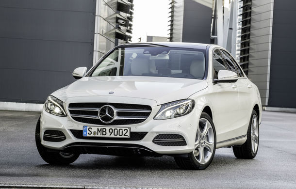 Mercedes Clasa C facelift: rivalul lui BMW Seria 3 se lansează în martie cu un nou motor diesel - Poza 1
