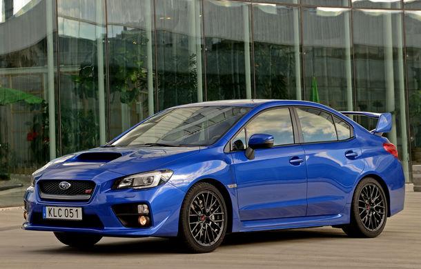 """Subaru WRX STI ar putea primi o versiune hibridă: japonezii vor """"un model mai prietenos cu mediul"""" - Poza 1"""