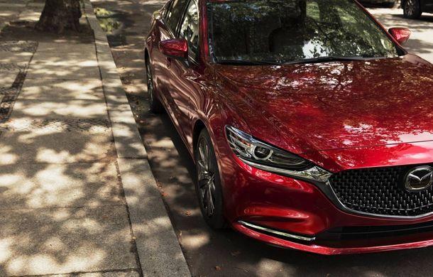 Primele imagini cu viitorul Mazda6: modelul constructorului japonez debutează în 29 noiembrie - Poza 1