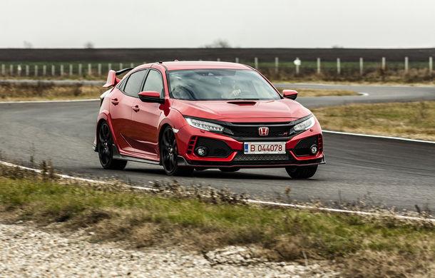 Prim contact cu modelele hardcore din gama Honda: pe circuit cu noul Civic Type R și cu supercar-ul NSX - Poza 6