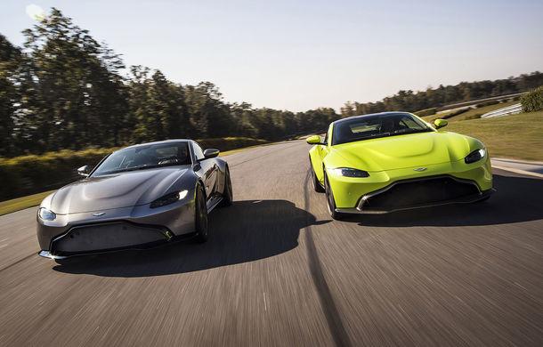 God Save the Queen: noul Aston Martin Vantage se prezintă oficial cu 510 CP și 3.6 secunde pentru 0-100 km/h - Poza 1