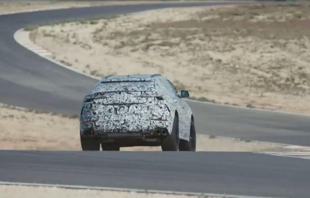 Lamborghini continuă seria teaserelor dedicate lui Urus: SUV-ul italienilor ajunge pe circuit - Poza 1