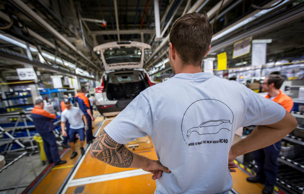 Volvo a demarat producția lui XC40: cel mai mic SUV al suedezilor este asamblat în Belgia - Poza 4
