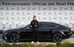 Jucătorii echipei Real Madrid au primit o flotă nouă din partea Audi: 14 fotbaliști au ales SUV-ul Q7