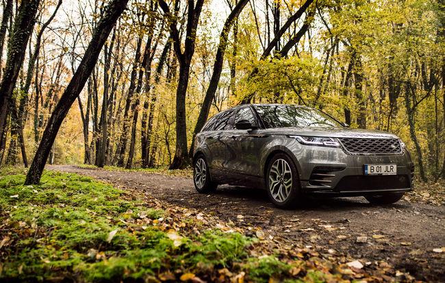 Test drive Range Rover Velar