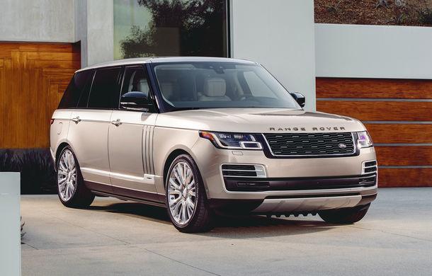 O nouă definiție a luxului: primele imagini cu Range Rover SVAutobiography facelift - Poza 3