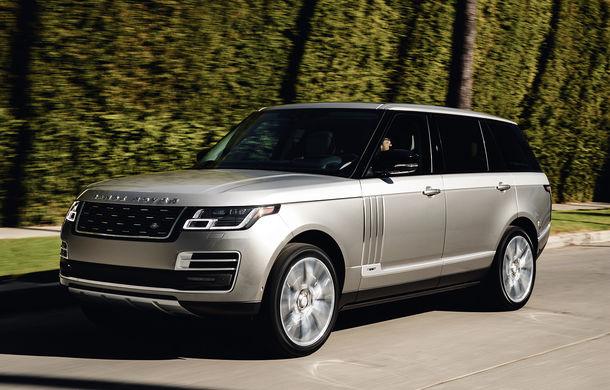 O nouă definiție a luxului: primele imagini cu Range Rover SVAutobiography facelift - Poza 2