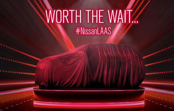 Teaser Nissan pentru lansarea unui nou SUV: modelul ar putea fi versiunea globală a lui Kicks - Poza 1