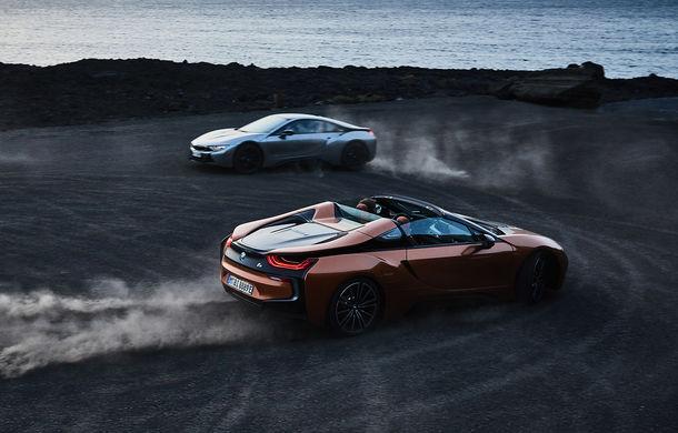 BMW i8 facelift și i8 Roadster: mai multă putere, autonomie mai mare și consum redus - Poza 32
