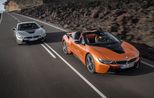 BMW i8 facelift și i8 Roadster: mai multă putere, autonomie mai mare și consum redus - Poza 20