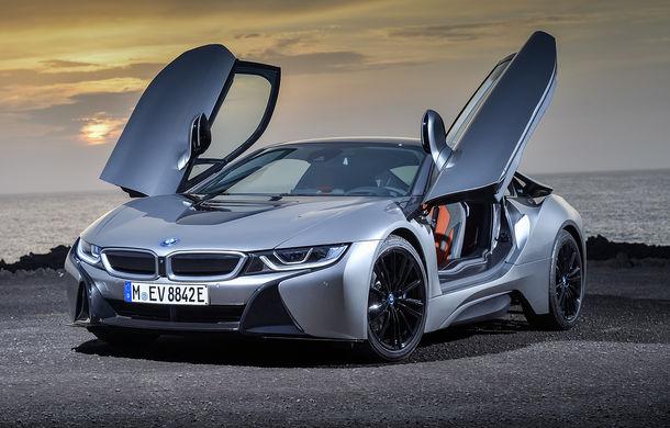 BMW i8 facelift și i8 Roadster: mai multă putere, autonomie mai mare și consum redus - Poza 14