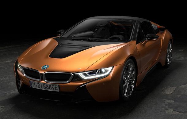BMW i8 facelift și i8 Roadster: mai multă putere, autonomie mai mare și consum redus - Poza 3