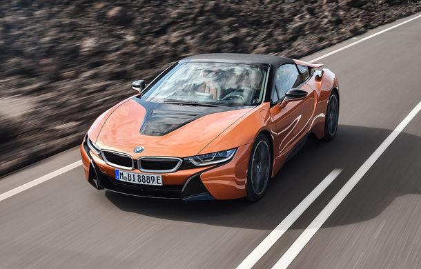 BMW i8 facelift și i8 Roadster: mai multă putere, autonomie mai mare și consum redus - Poza 19