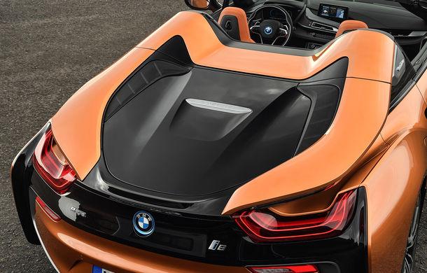 BMW i8 facelift și i8 Roadster: mai multă putere, autonomie mai mare și consum redus - Poza 38