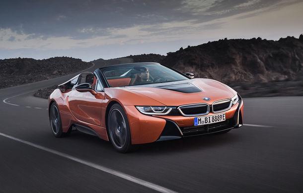 BMW i8 facelift și i8 Roadster: mai multă putere, autonomie mai mare și consum redus - Poza 18