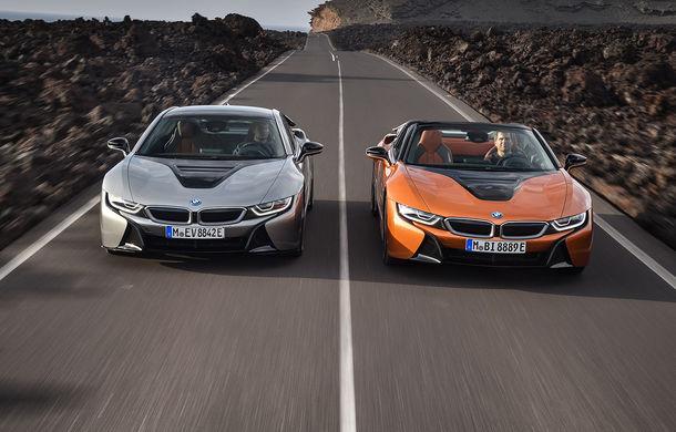 BMW i8 facelift și i8 Roadster: mai multă putere, autonomie mai mare și consum redus - Poza 21