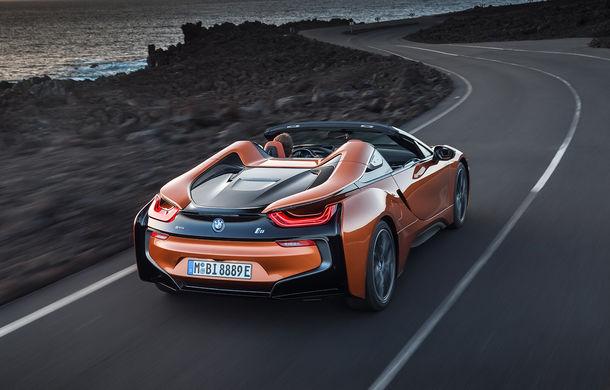 BMW i8 facelift și i8 Roadster: mai multă putere, autonomie mai mare și consum redus - Poza 17