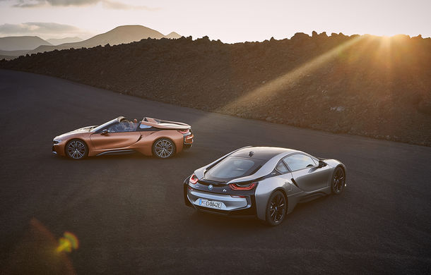 BMW i8 facelift și i8 Roadster: mai multă putere, autonomie mai mare și consum redus - Poza 15