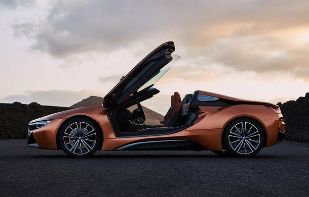 BMW i8 facelift și i8 Roadster: mai multă putere, autonomie mai mare și consum redus - Poza 12