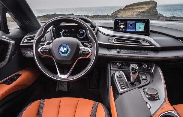 BMW i8 facelift și i8 Roadster: mai multă putere, autonomie mai mare și consum redus - Poza 40