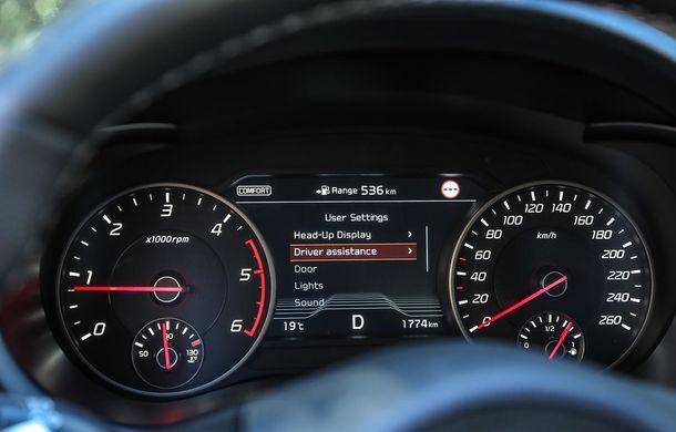 Prim contact cu Kia Stinger, cel mai rapid Kia din istorie: grand tourer cu aspirații premium - Poza 46