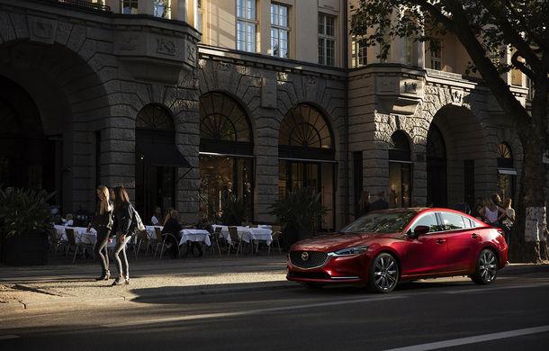 Mazda6 primește îmbunătățiri noi: design ușor revizuit și modificări în ceea ce privește comportamentul dinamic - Poza 4