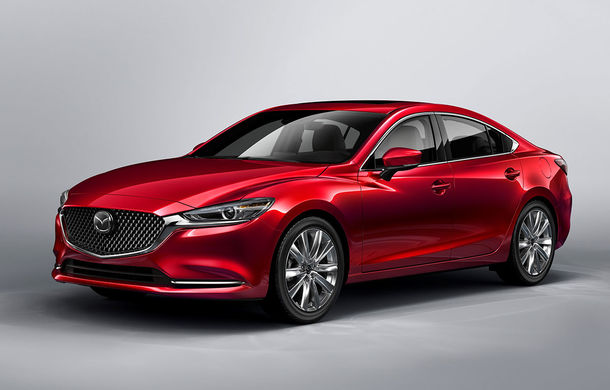 Mazda6 primește îmbunătățiri noi: design ușor revizuit și modificări în ceea ce privește comportamentul dinamic - Poza 1