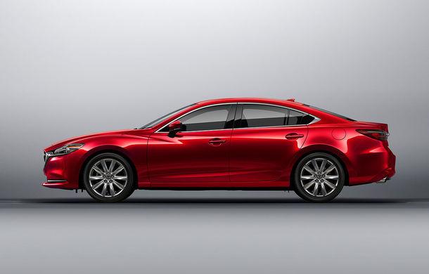 Mazda6 primește îmbunătățiri noi: design ușor revizuit și modificări în ceea ce privește comportamentul dinamic - Poza 2