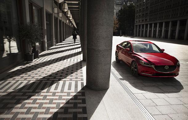Mazda6 primește îmbunătățiri noi: design ușor revizuit și modificări în ceea ce privește comportamentul dinamic - Poza 10