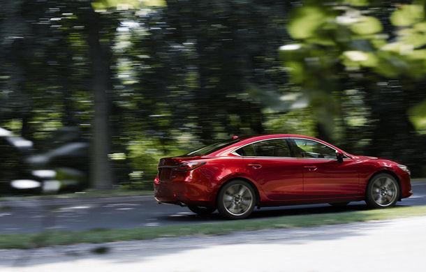 Mazda6 primește îmbunătățiri noi: design ușor revizuit și modificări în ceea ce privește comportamentul dinamic - Poza 11