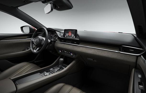 Mazda6 primește îmbunătățiri noi: design ușor revizuit și modificări în ceea ce privește comportamentul dinamic - Poza 19