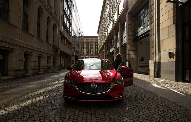Mazda6 primește îmbunătățiri noi: design ușor revizuit și modificări în ceea ce privește comportamentul dinamic - Poza 5