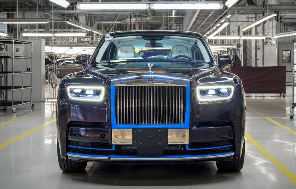 Primul Rolls-Royce Phantom VIII va fi scos la licitație: banii colectați vor fi folosiți în scopuri caritabile - Poza 1