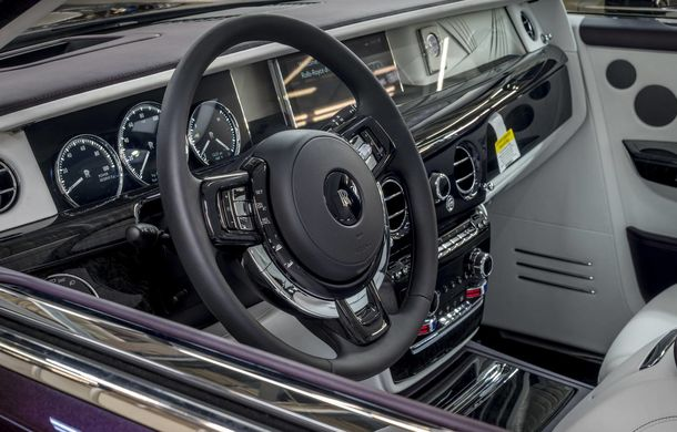 Primul Rolls-Royce Phantom VIII va fi scos la licitație: banii colectați vor fi folosiți în scopuri caritabile - Poza 3