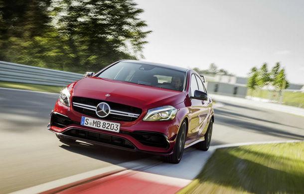 Un nou rival pentru Volkswagen Golf R și Honda Civic Type-R: Mercedes A35 AMG va deveni cel mai accesibil model AMG - Poza 1