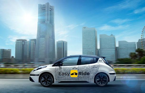 Robo-taxi japonez: Nissan a prezentat un model Leaf complet autonom, care va fi testat din 2018 - Poza 1