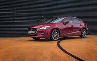 Test drive Mazda 3 facelift