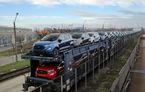Ford a început livrările noului Ecosport produs la Craiova: primele 600 de unități, transportate cu trenul în Marea Britanie și Germania