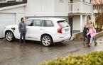 Experiment realist: două familii suedeze vor utiliza Volvo XC90 cu funcții autonome pe drumuri publice