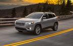 Primele imagini cu Jeep Cherokee facelift: schimbări minore de design și motoare mai eficiente