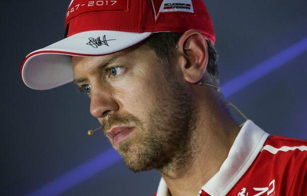 """Ferrari: """"Vettel nu va mai fi atât de emotiv în sezonul 2018"""" - Poza 1"""