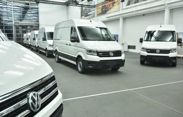 Volkswagen a livrat primele exemplare e-Crafter: motor de 134 CP și autonomie de circa 160 de kilometri - Poza 3