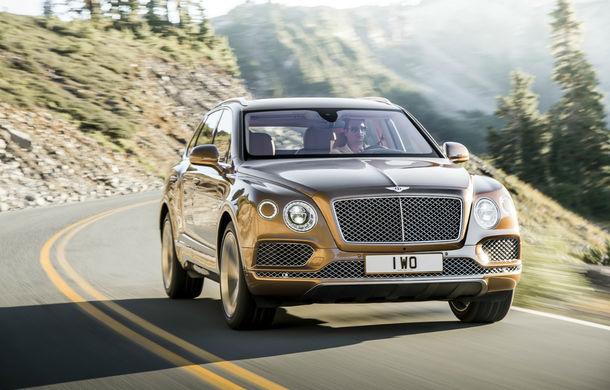Planurile Bentley pentru SUV-ul Bentayga: V8 pe benzină și plug-in hybrid din 2018 - Poza 1