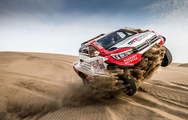 Start în Dakar 2018: Peugeot, Toyota și Mini se luptă la categoria Auto, iar România e reprezentată de Mani Gyenes la categoria Moto - Poza 1